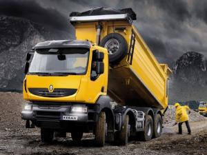 Renault Truck Models:Truck Model:Truck Model: Kerax Dump Truck