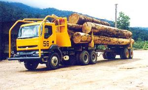 Renault Kerax Logging Truck